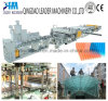 UV Resistance Polycarbonate PC Hollow Grid Sheets Machine Production Line