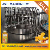 High Temperature Flavor Juice Rotary Pet Bottle Filling System / Equipment