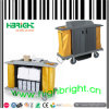 Plastic Housekeeping Cleaning Cart Trolley