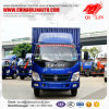 Single Cab Small Dry Cargo Delivery Van Lorry Truck