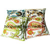 100% Cotton Canvas Embroidery Cushion (HY200)