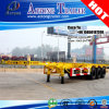 3 Axles 40foot Skeleton Trailer Chassis for Thailand