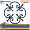 Forged Wrought Iron Rosettes and Panels
