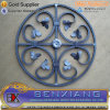 Decorative Wrought Iron Rosette Scrolls