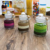 Factory Price Wholesale Colorful Design Storage Spice Salt Glass Jar (100015)