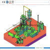 Energy Saving Used Oil Recycling Plant Getting Diesel Gasoline