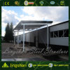 Qingdao ISO Prefab Light Steel Low Cost of Warehouse Construction