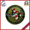 Soft Enamel Challenge Coin, No MOQ, Free Artwork Design