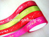 2015 Customized Printed Polyester Satin Ribbon