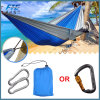 2018 Outdoor Nylon Travel Parachute Camping Hammock with Mosquito Net