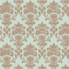 High Quality Italian Classic Style Flower Design Wallpaper for Interior Walls Decor