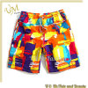 Hot Sale 100% Polyester Men′s Swimming Beach Short Swim Short