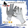 Hot Sales 13G Hppe PU Coated Cut Resistant Glove Level Grade 3 and 5
