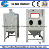 Manual Dry Sandblasting Sandblaster Stone Carving Machine