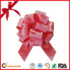 Wedding Car Decoration Red Printed Ribbon Pull Bows