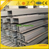 OEM Powder Coated Anodized Aluminium Extrusion for Glass Wall