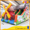 Happy Farm Slide Cartoon Printing Inflatable Slide for Outdoor Activities (AQ01233)
