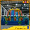 Jungle Quadruple Lane High Slide Inflatable Obstacle Slide Game (AQ1104)