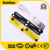 25cm Sliding Four Folding Measuring Angle-Izer Template Ruler Tool