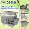 Thr-FC005 Hospital Stainless Steel Food Warmer Trolley