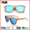 Ynjn Environmental Mirror Lenses Custom Wood Sunglasses