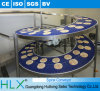 Food Equipment Modular Belt Conveyor with Rubber Top