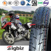 Rubber Tubeless Tricycle Motorcycle Tyre/Tire (100/90-18)