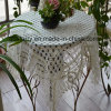 Machine Made 100% Polyester Lace Table Cloth