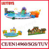 Inflatable Water Park, Inflatable Pool Combined with Inflatable Slide (Awp-005)