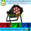 2017 Hot Sale Mini LED PAR Can Light 7PCS*10W RGBW 4in1 Epistar LEDs for Stage Effect Light