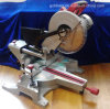 255mm 1900W Low Noise Induction Motor Professional Wood/Aluminum Cutting Compound Miter Table Saw Machine Electric Sliding Circular Saw (GW8020)