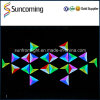 Bar Club Decoration RGB 3D Effect Triangle LED Wall Backdrop Panel