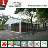15m Width Big Tent with Glass Walling System for Catering 200 People Capacity