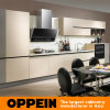 Oppein Grey and Beign Wove Melamine Kitchen Furniture (OP14-075)