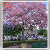 Pink Cheap Artificial Cherry Blossom Tree for Garden Decoration