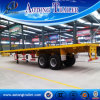 2 Axle 40FT Container Semi Trailer, Flatbed Semi Trailer for Sale