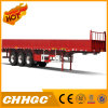 Flat Type Side Wall 3axle Cargo/Fence Semi-Trailer