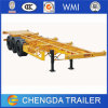 3 Axle Skeletal Container Semi Trailer for Sale
