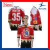 Sublimation Shirts Printing Ice Hockey Jersey Sport Wear