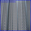 Construction Plaster Metal Ribbed Lath V Style Pattern
