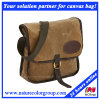 Mens Leisure Simple Waxed Canvas Messenger Mail Bag
