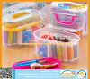 Sewing Kit for Household with Plastic Case