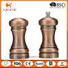 Copper Plating Handed Plastic Salt and Pepper Shaker