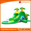 Inflatable Water Garden Jungle Jumping Water Slide (T11-103)