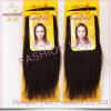 Black Color Virgin Hair Extension Brazilian Remy Human Hair Weave (HX-BR-ST)