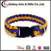 Best Selling Quality Custom Polyester Purple Dog Collars