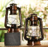 Glass and Metal LED Emergency Lanterns for Household