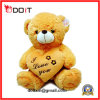 10 Inch Soft Plush Heart Teddy Valentine Bear with I Love You