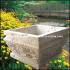 Natural Stone Urn, Garden Flower Pot, Planter (GS-FL-013)