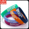 Fashion Colorful Silicone Rubber Bracelet with Promotion